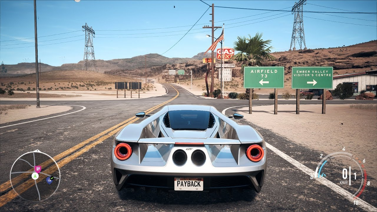 Need For Speed Payback Ford Gt Open World Free Roam Gameplay Pc Hd Pfps