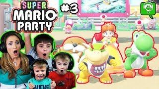 Mario Party Part 3 w/HobbyMom by HobbyFamilyGaming