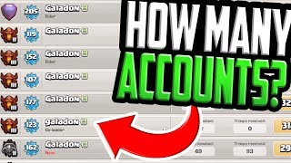 HOW MANY Accounts Can one Person Run in Clash of Clans?