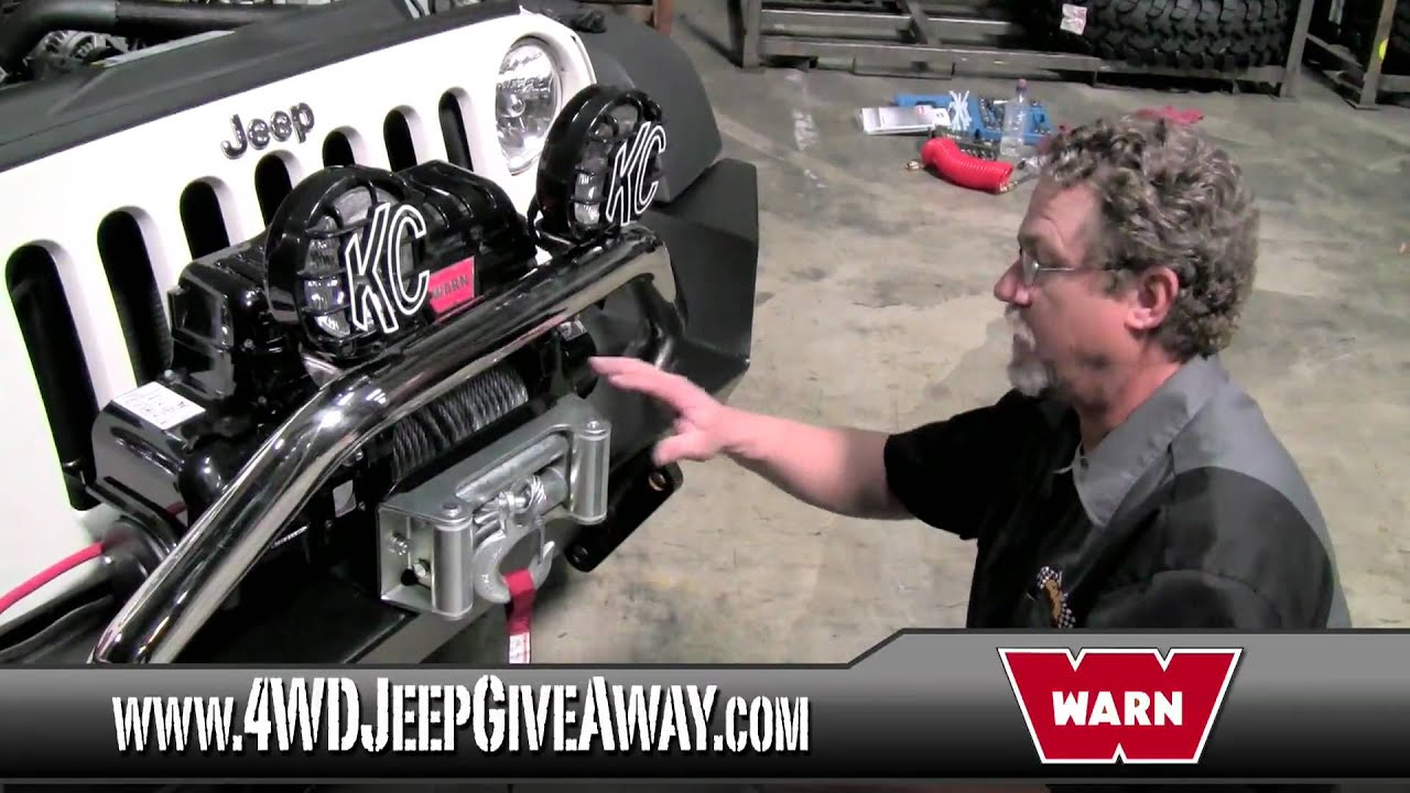 jeep winches winner installing a warn powerplant winch