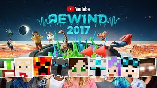 MINECRAFT YOUTUBE REWIND: The Ultimate Head 2017 Challenge! #LetsRewind