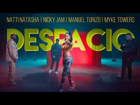 Natti Natasha | Nicky Jam | Manuel Turizo | Myke Towers – Despacio [Official Video]