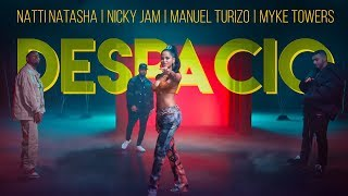 Natti Natasha | Nicky Jam | Manuel Turizo | Myke Towers - Despacio [Official Video]