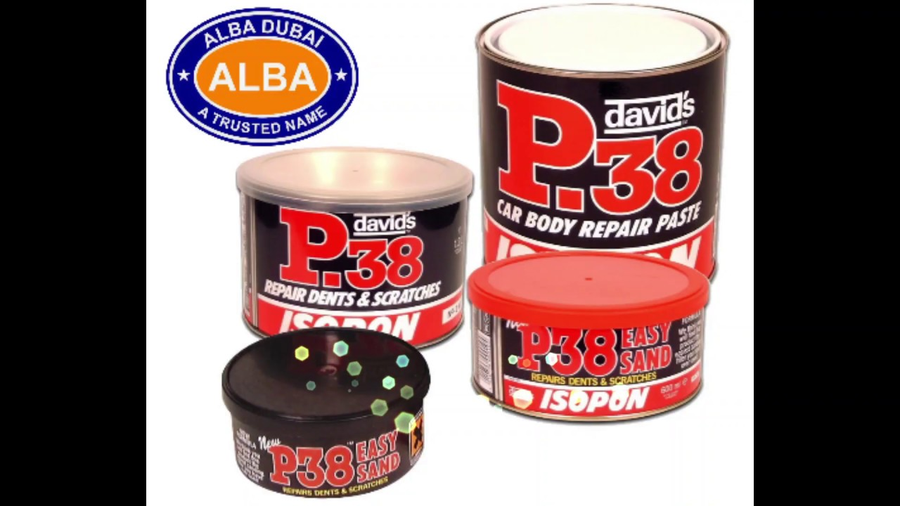 P38 BODY FILLER /ALBA DUBAI/AUTOMOTIVE AND CAR CARE PRODUCTS