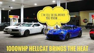 H/C Viper vs 1000whp Hellcat, Whipple 5.0, TT 5.0, HCI C6Z, E85 C7Z
