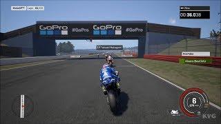 MotoGP 18 - Silverstone Circuit (British GP) - Gameplay (PC HD) [1080p60FPS]