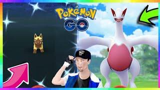 SHINY POOCHYENA CAUGHT & 98IV LUGIA CAUGHT in Pokemon Go!