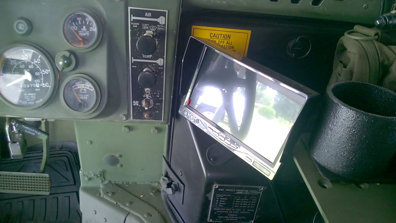 M998 Hmmwv Interior Youtube