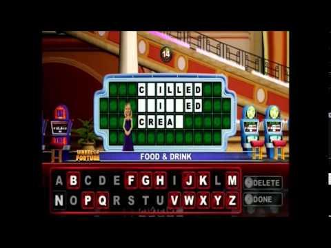 Wii U Wheel Of Fortune Wheel in Las Vegas At Venetian Wednesday Show