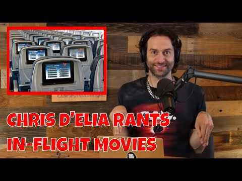 Chris D'Elia Rants About In-Flight Movies