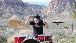 DAVIE POO - Underoath - I don't feel very receptive today drum cover
