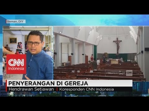 Romo Prier & Gereja di Sleman Yogyakarta Diserang Orang Tak Dikenal, Gereja Santa Lidwina Bedog