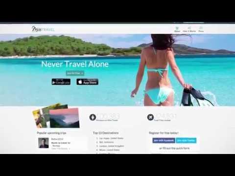 Travel dating app gabbie show