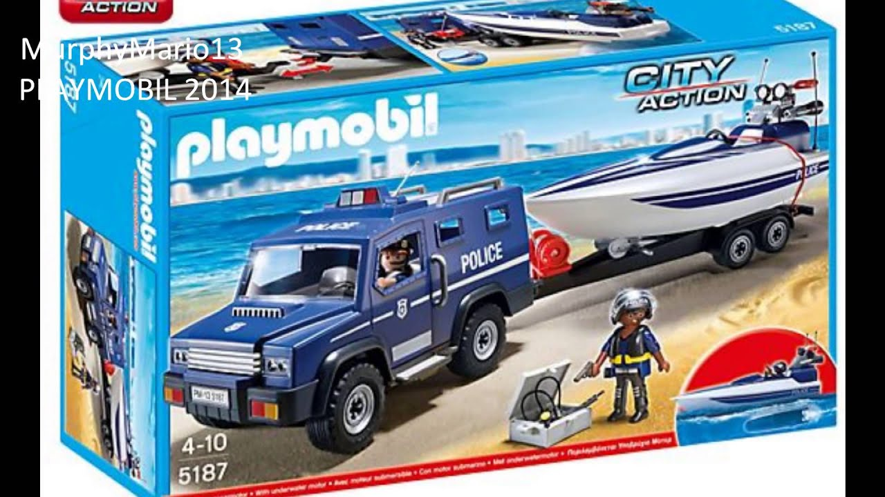 playmobil police polizei youtube. Black Bedroom Furniture Sets. Home Design Ideas