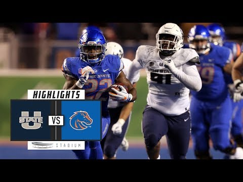 Utah State vs. Boise State Football Highlights (2018) | Stadium
