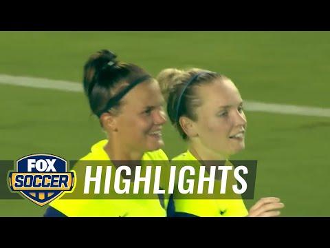 Houston Dash vs. Seattle Reign FC - 2015 NWSL Highlights
