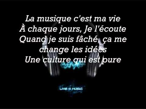 mourad la musique c 39 est ma vie feat chika lyrics youtube. Black Bedroom Furniture Sets. Home Design Ideas