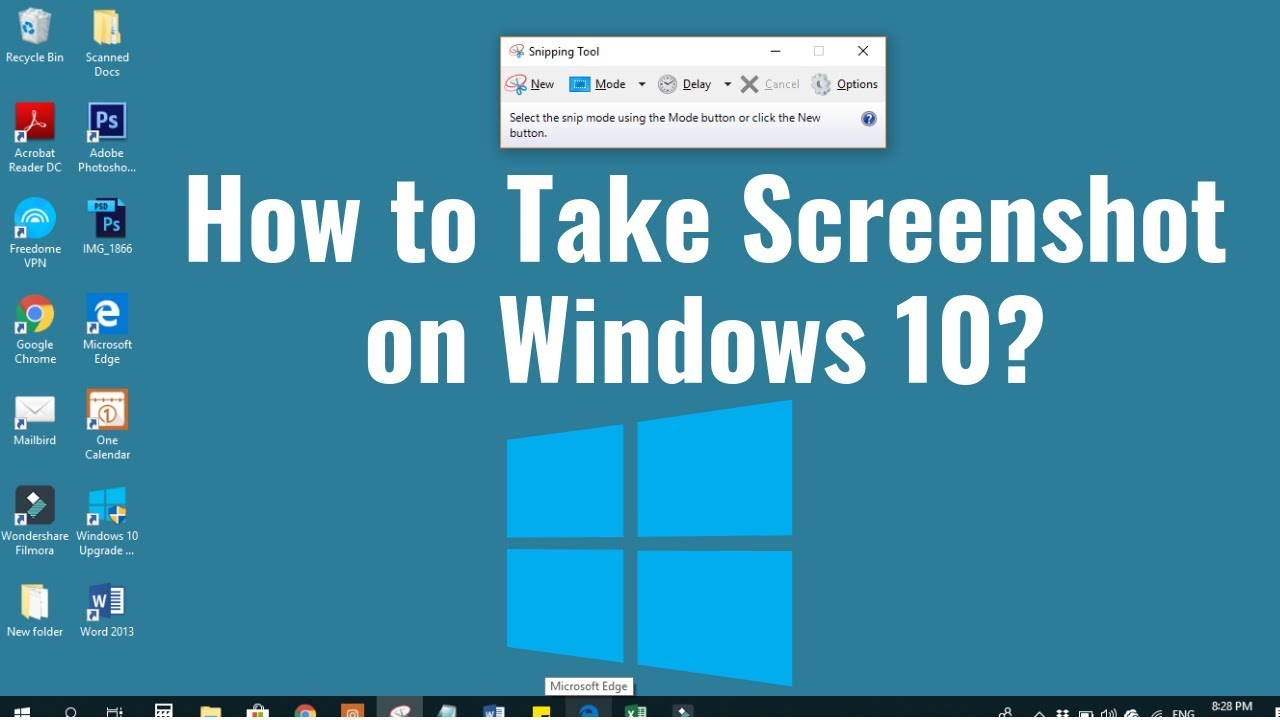 how do you use snipping tool in windows 8