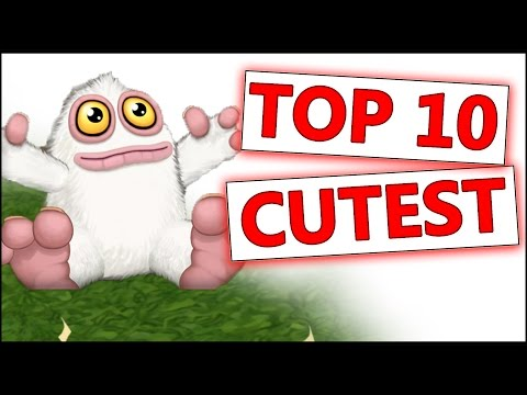 Top 10 Cutest Monster in My Singing Monsters: Dawn of Fire