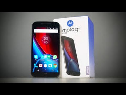 733b22dac4c Lenovo-Moto G4 Plus 3GB RAM+32 GB ROM Unboxing   Hands On Review ...