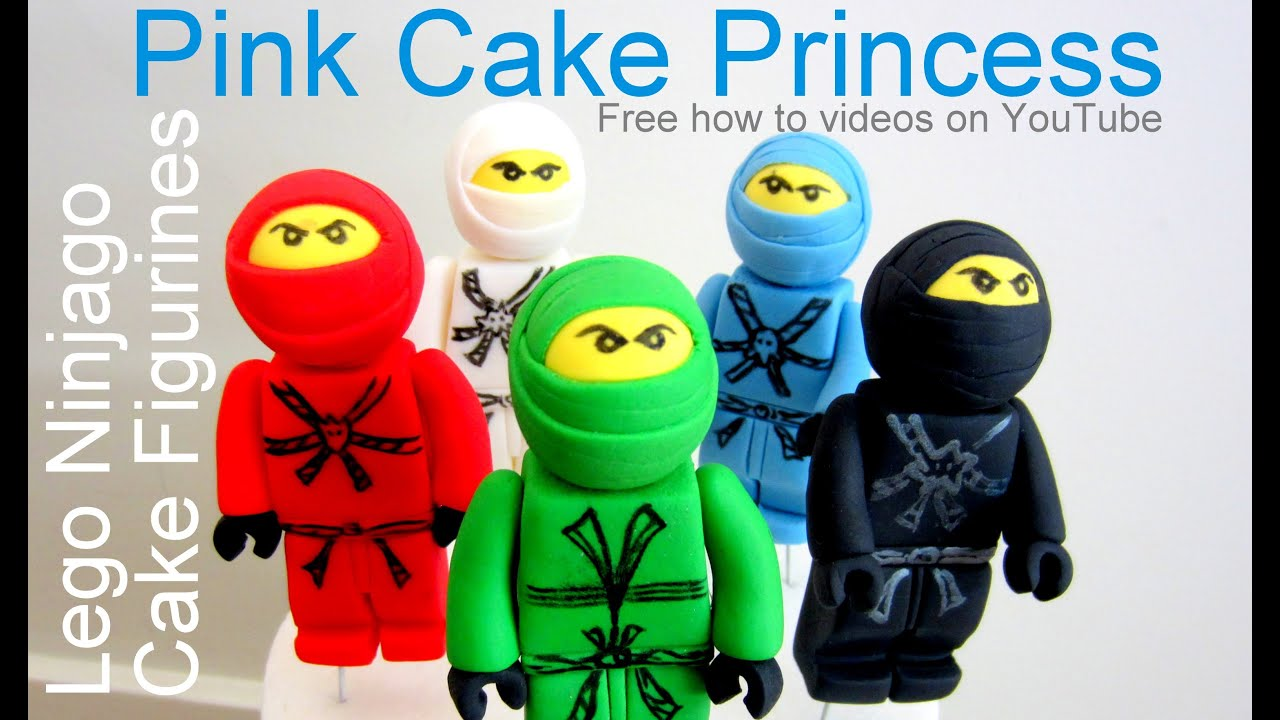 The Lego Movie / Ninjago Figurines - Cake Topper how-to