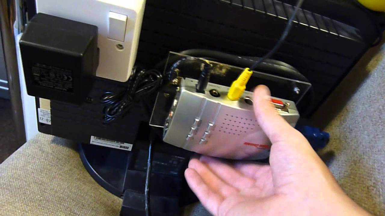 Dell Monitor Rca To Vga Converter Mod Youtube