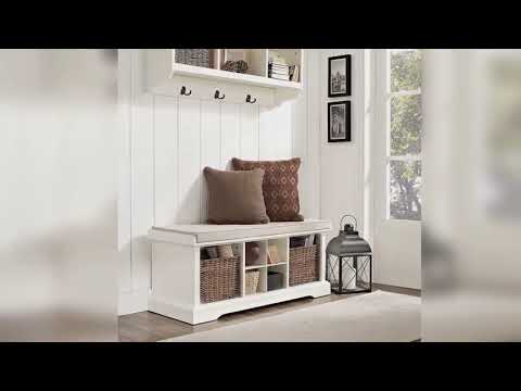 entryway-bench-with-storage-baskets-&-cushions-superb