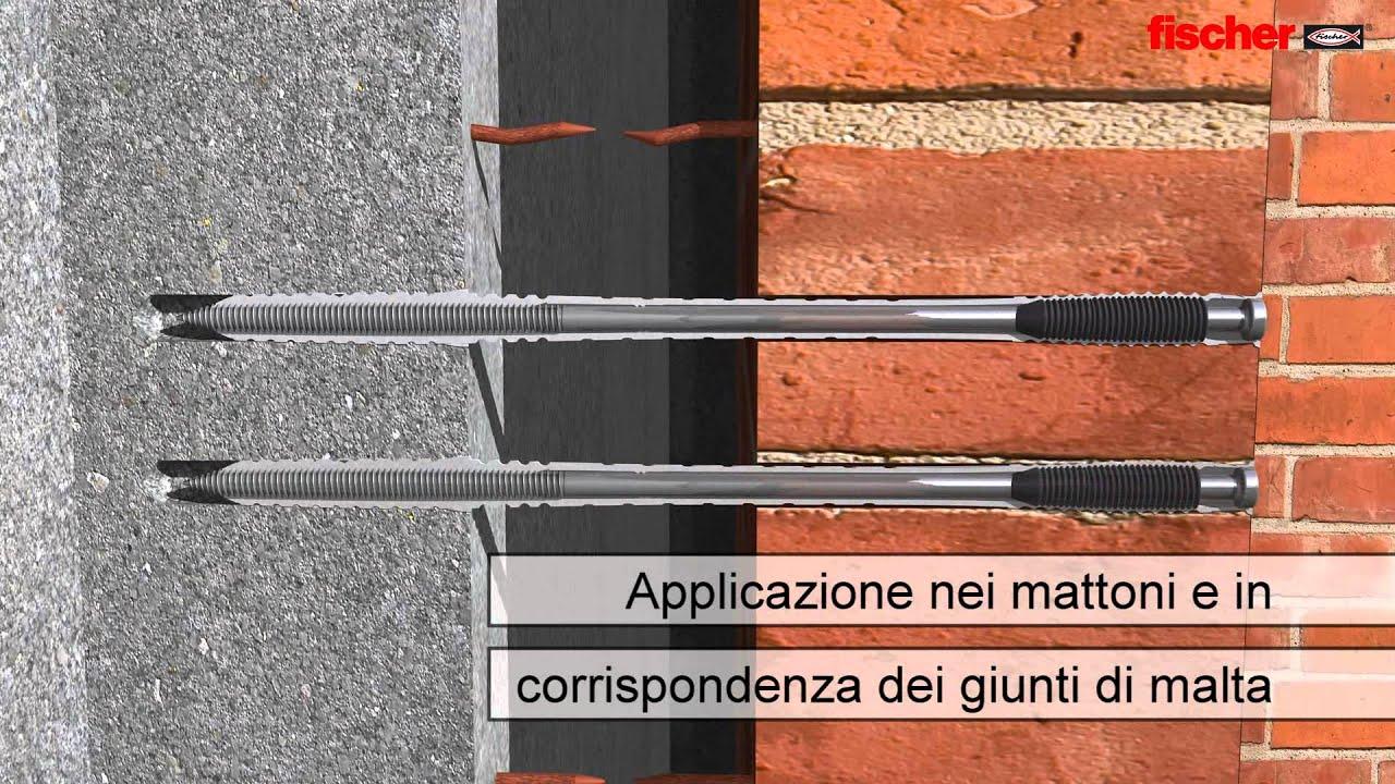 max ricas mattoni tipo pietra : fischer VBS fissaggio della parete in mattoni faccia a vista alla ...