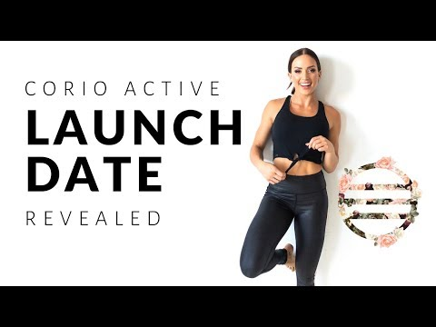 CORIO ACTIVE – OFFICIAL LAUNCH DATE!!!