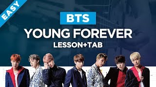 Bts young forever acoustic guitar cover ...