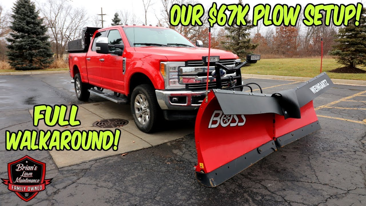 medium resolution of what does a 67 000 plow truck setup look like