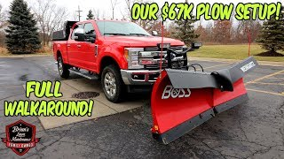 What Does A $67,000 PLOW TRUCK Setup Look Like?!