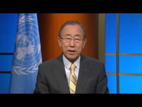 Ban Ki-moon, video message at the 20th International AIDS Conference