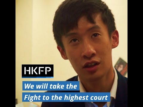 Hong Kong's ousted lawmakers to take legal battle to Court of Final Appeal