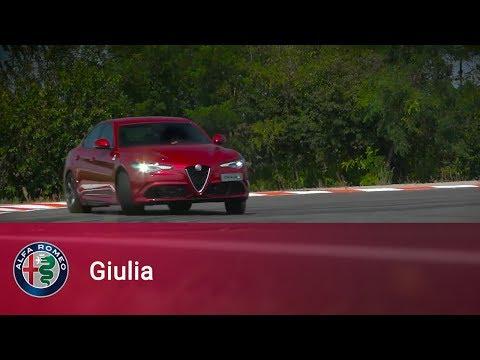 Alfa Romeo Giulia Quadrifoglio   Giancarlo Fisichella on board