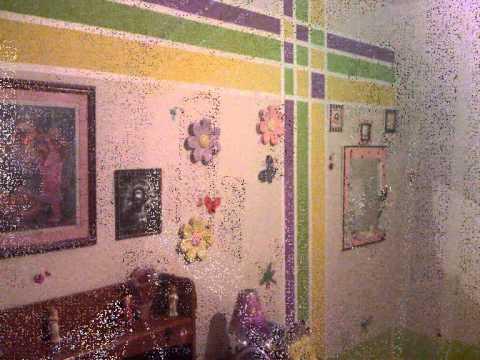 Remodelando el cuarto de mi princesa youtube - Como pintar una habitacion a rayas ...