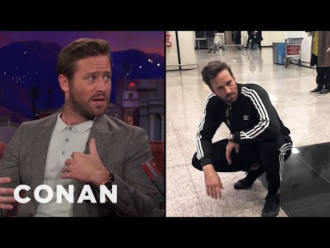 Armie Hammer Is Retiring His Tracksuits   CONAN on TBS