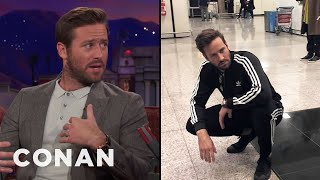 Armie Hammer Is Retiring His Tracksuits  - CONAN on TBS