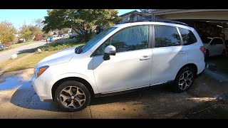 homepage tile video photo for 2015 Subaru Forester XT Ep.140: Polishing the Tailgate Emblem Scratches