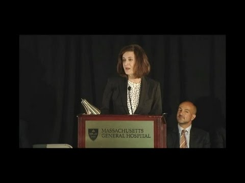 Vicki Kennedy remarks at MGH CCHI 20th Anniversary