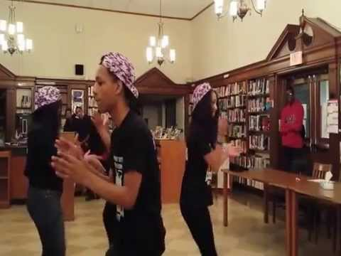 Step Team At Port Chester High School