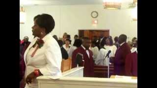 2013 New Mt. Olive Baptist Church Choir Anniversity Processional