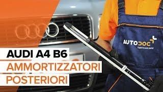 Installazione Ammortizzatori anteriore AUDI A4: manuale video