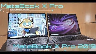 Huawei MateBook X Pro (2019) | What's new vs 2018?
