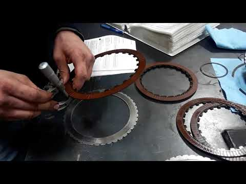 Allison 2000 Transmission Rotating Clutch Module C2 Friction Plate  Inspection
