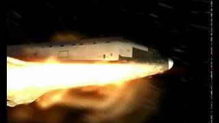 3D Re-entry of Space Shuttle Endeavour