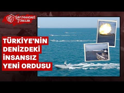 Türkiye'nin denizdeki insansız yeni ordusu