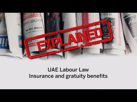 Video: UAE Labour Law - insurance and gratuity benefits explained