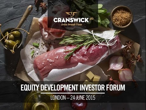 Cranswick PLC - Equity Development Investor Forum June 2015