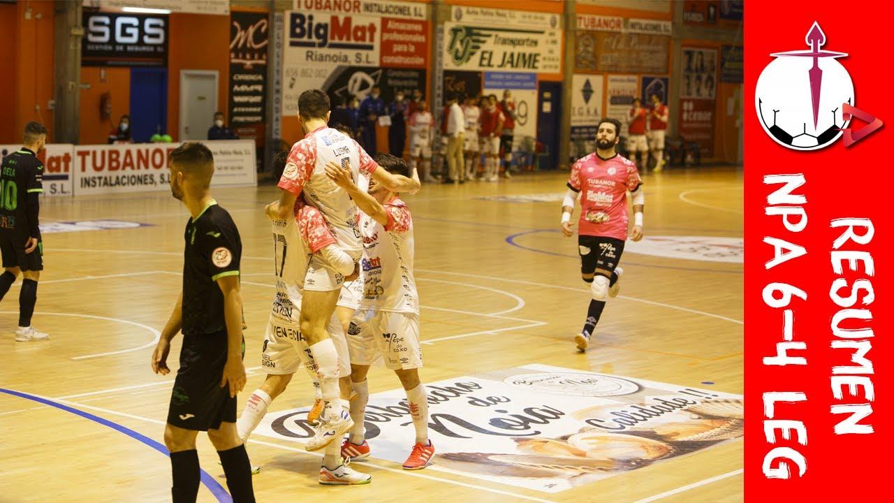 RESUMEN: Noia PA FS 6-4 CD Leganés FS